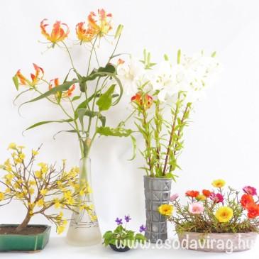 Agyagvirág kiállítás lesz Budakeszin