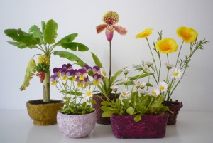 Agyagvirágok